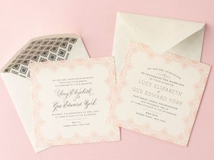 Jones' Wedding Invitations