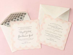 Jones' Wedding Invitations