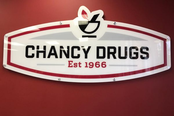 Chancy Drug Signs